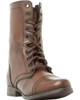 Troopa Lace Up Boots