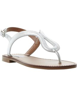 Takeaway Toe Post Flat Sandals