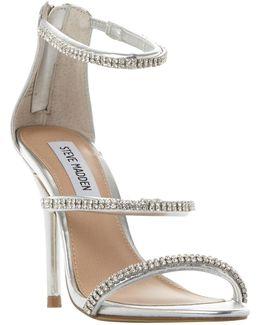 Wren-r Sm Jewelled Strap Stiletto Sandals
