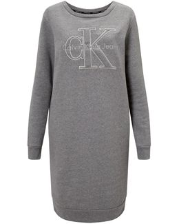 Dalis Logo Sweatshirt Dress