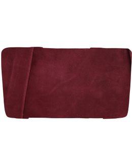 Emmy Suede Clutch Bag