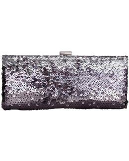 Dina Sequin Clutch Bag