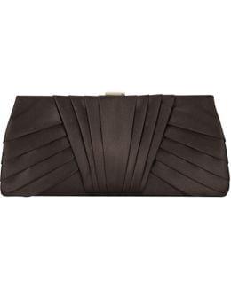 Nina Satin Clutch Bag