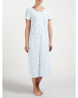 Rei Floral Short Sleeve Nightdress