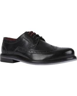 Titanium Derby Shoes
