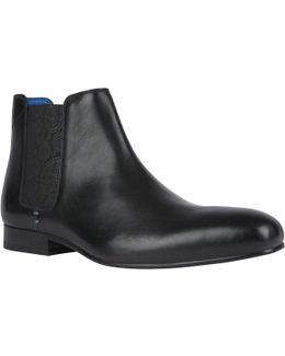 Kayto Leather Chelsea Boots