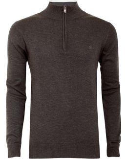 Golf Heather Half-zip Sweatshirt