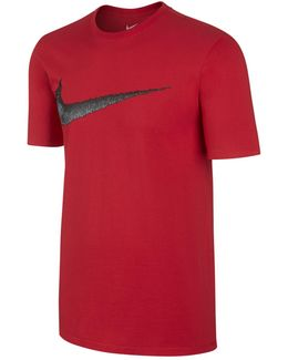 Sportswear Swoosh Cotton T-shirt