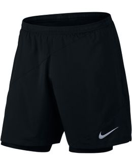 "Flex 7"" 2 In 1 Running Shorts"