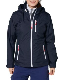 Crew Hooded Midlayer Waterproof Women's Jacket