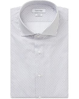 Rome Fitted Easy Iron Shirt