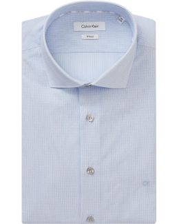 Rome Lines Fitted Easy Iron Shirt