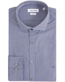 Norwich Micro Gingham Sim Fit Shirt