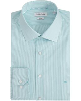 Cannes Fitted Easy Iron Shirt
