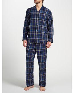 Tauru Check Brushed Cotton Pyjamas