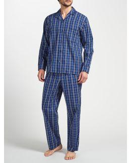 Gurgaon Check Cotton Poplin Pyjamas
