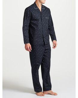Snowflake Print Pyjamas