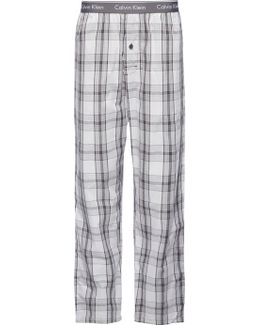 Rossa Cotton Check Lounge Pants