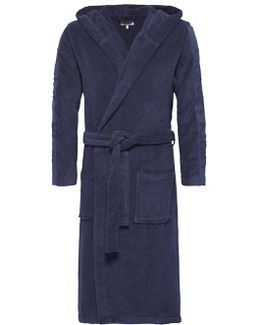 Cotton Terry Hooded Robe