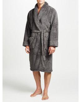Hooded High Pile Robe