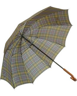 Large Tartan Golf Umbrella