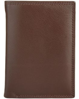 Leather Shirt Wallet