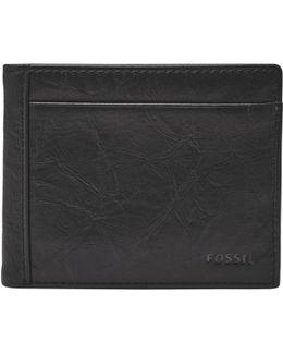Neel Flip Id Bifold Wallet
