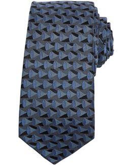 Capella Horn Weave Silk Tie