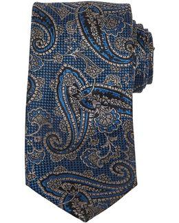 Cramer Paisley Silk Tie