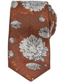 Kiribat Floral Silk Tie
