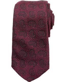 Winton Paisley Silk Tie