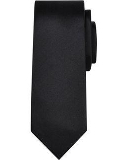 Slim Woven Silk Tie