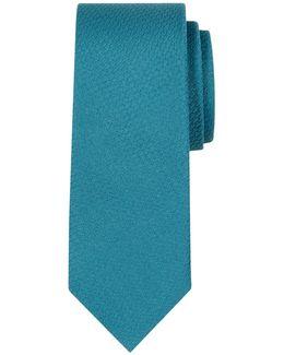 Semi Plain Silk Tie
