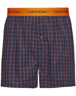 Cary Plaid Slim Fit Boxers