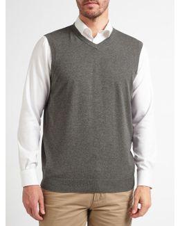 Cotton Rich V-neck Tank Top