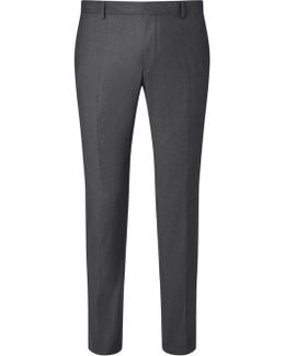 Tate Pindot Tailored Suit Trousers