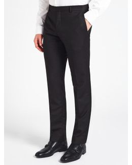 Tate Micro Two Tone Weave Tailored Suit Trousers