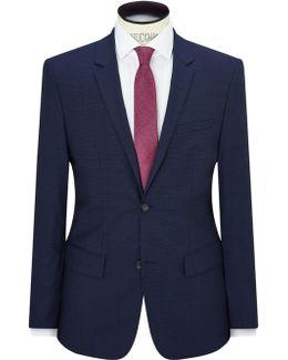 Pindot Wool Tailored Fit Jacket