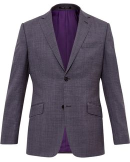 Cinchj Wool Tailored Fit Suit Jacket