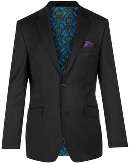 Chunkj Semi Plain Tailored Suit Jacket