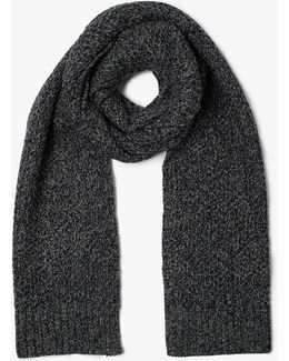 Kapok Cable Knit Scarf
