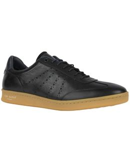 Orlee Leather Trainers