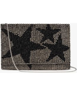 Starr Envelope Beaded Clutch Bag