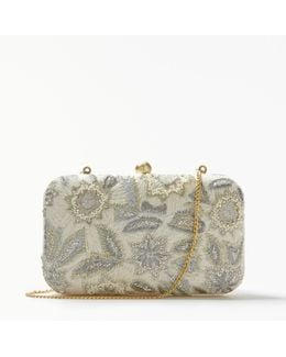 Florence Boxed Clutch Bag