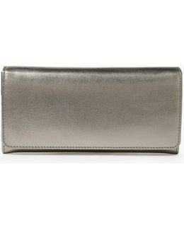 Lizzie Leather Slim Continental Purse