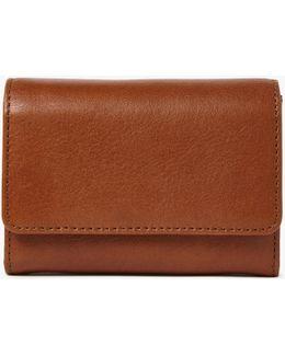 Ellie Small Leather Foldover Purse