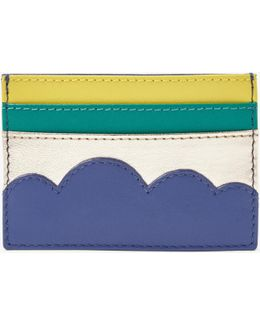 Leather Cloud Card Holder