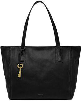 Emma Leather Tote Bag