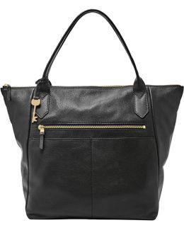 Fiona Leather Tote Bag