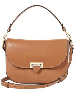 Letterbox Leather Slouchy Saddle Bag